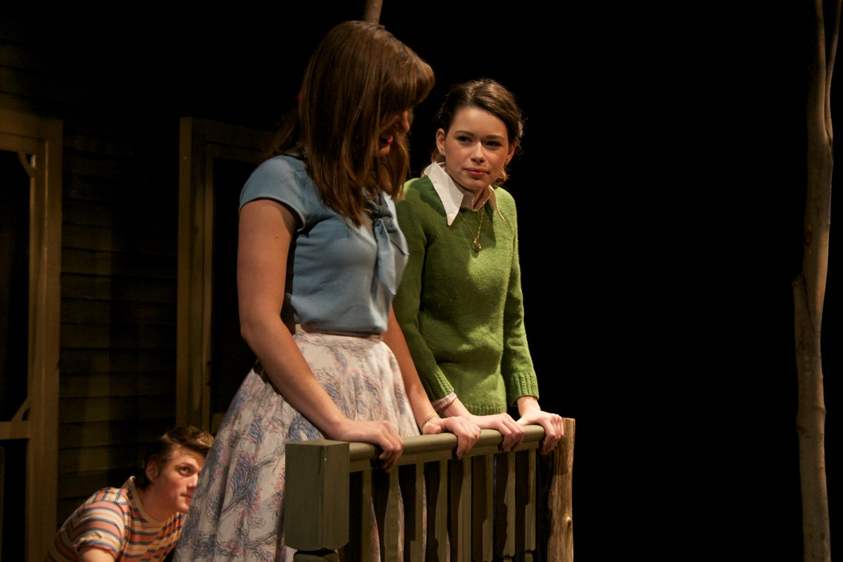 "Scene from ""Rimers"" a Guilford College Theatre Production in 2015."