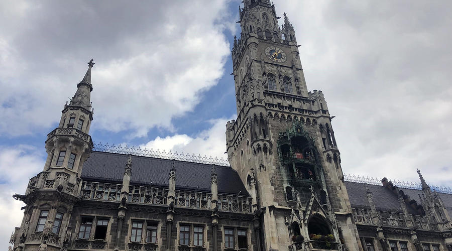 Photo of a cathedral in Munich.